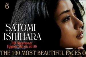 石原さとみが世界で最も美しい顔100人に選ばれる