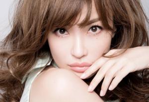 長谷川京子の顔が平子理沙のように崩れていく
