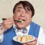 彦摩呂は昔イケメンだった?食レポは嘘でヤラセ?体重が笑えない